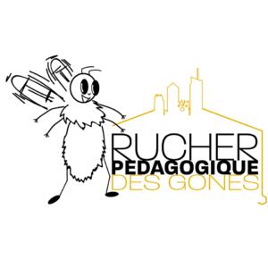 logo du rucher pédagogique des gones